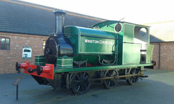 Sentinel Locomotive at BCLM