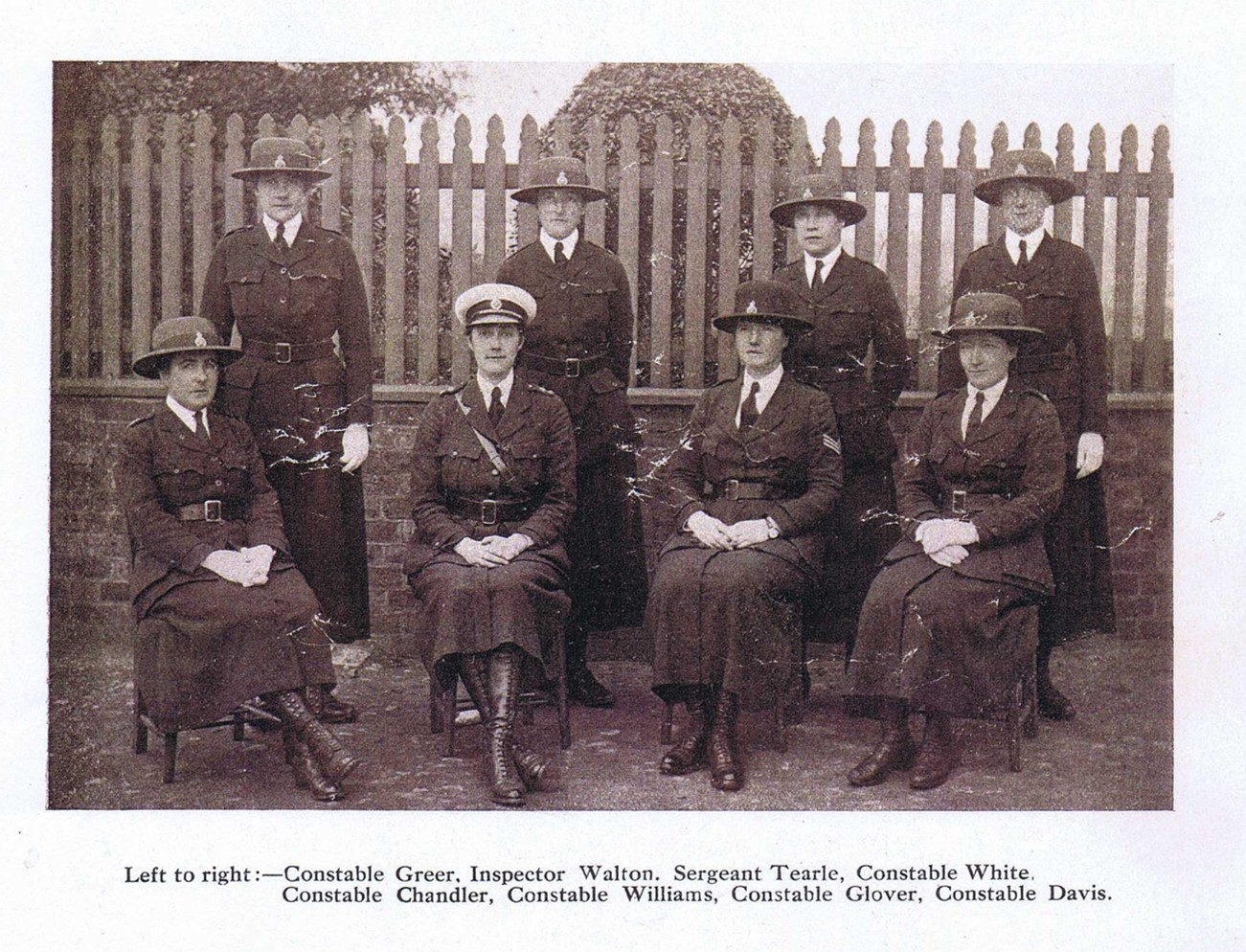 Willams & Tearle Walsall Policewomen