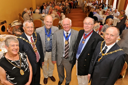Four Mayors attend 50th Anniversary celebration