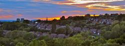 View taken from Turners Hill near Du