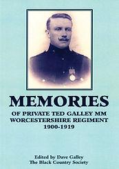 1st World War memories of the Worcestershire Regiment