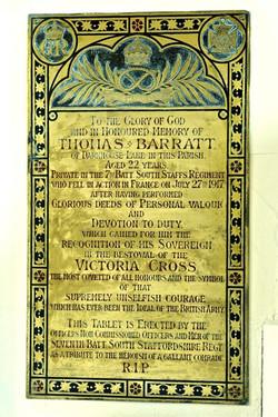 1 Decorative Inscription in honour of T. Barratt
