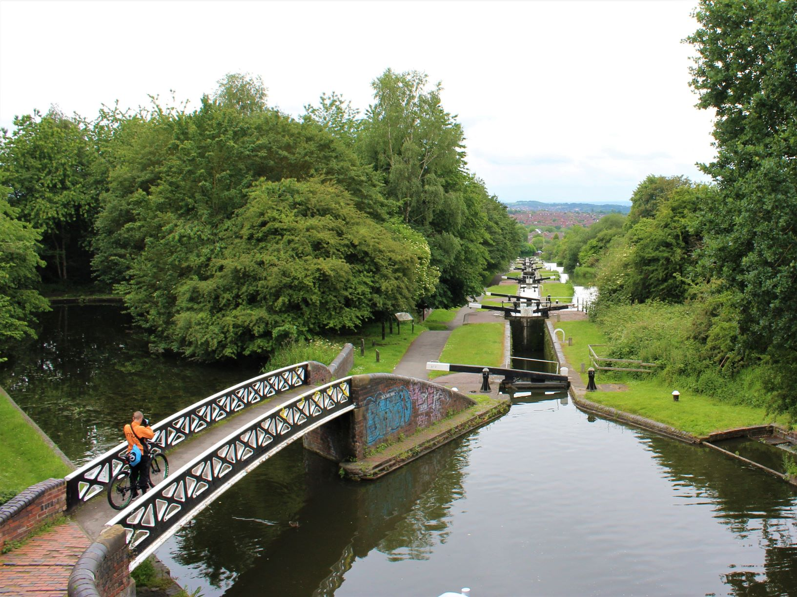 Dudley No 1 canal 9 Locks