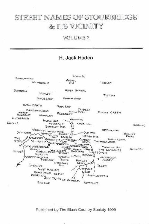 Street names of Stourbridge