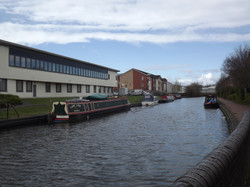 TIPTON CANAL with modern building