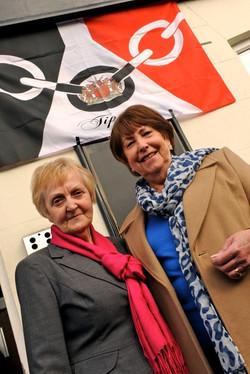 Doreen Brimble & Pauline Fletcher