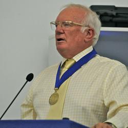 18 James Morgan speaking _ 50th Anniv. celebrations _ BC Museum