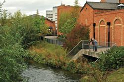 The river Stour passes through Kidde