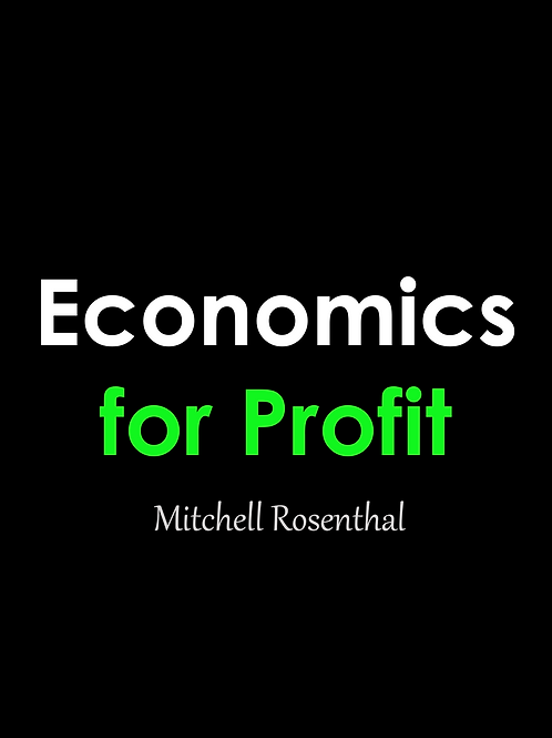 Economics for Profit (Pre-Order)