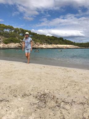 und ausgedehnte strandspaziergänge machen