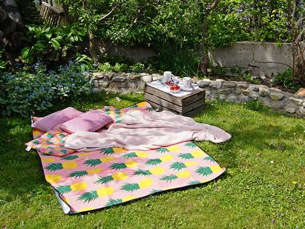 oder einem picknick im garten