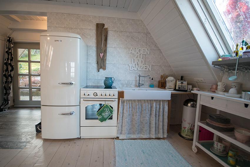 klein aber fein -unsere coole retro küche