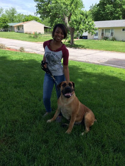 Danesha with Nyla
