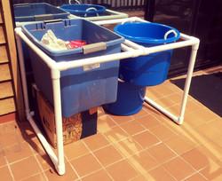 Circo PVC recycle bin holder