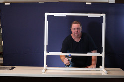 PVC Frame Covid Shield