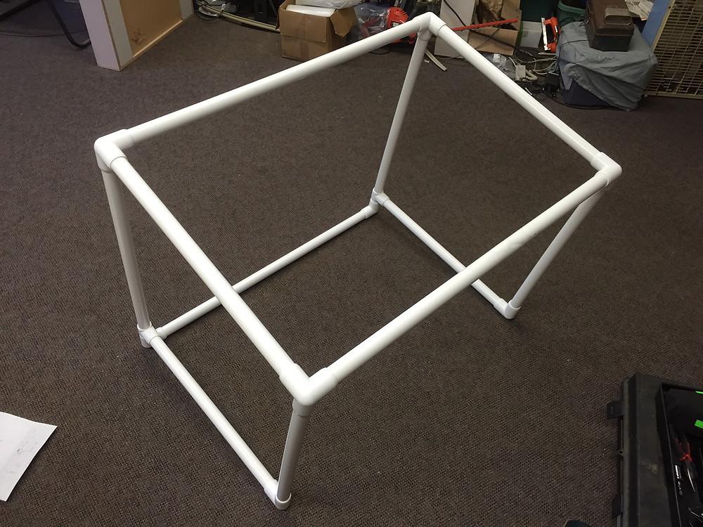 PVC quilt frame