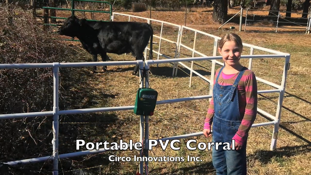 PVC Pipe and Fittings Corral