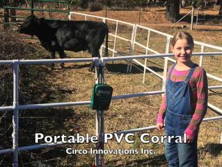 Portable PVC Corral