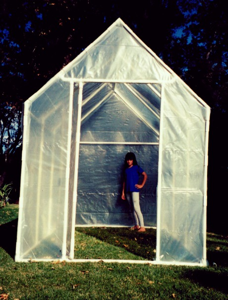 Pitched Roof Greenhouse