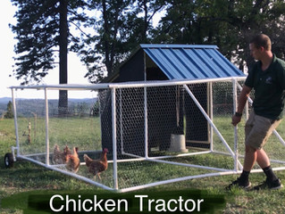 The PVC Chicken Tractor