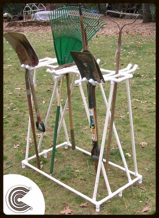 Circo PVC Tool Rack