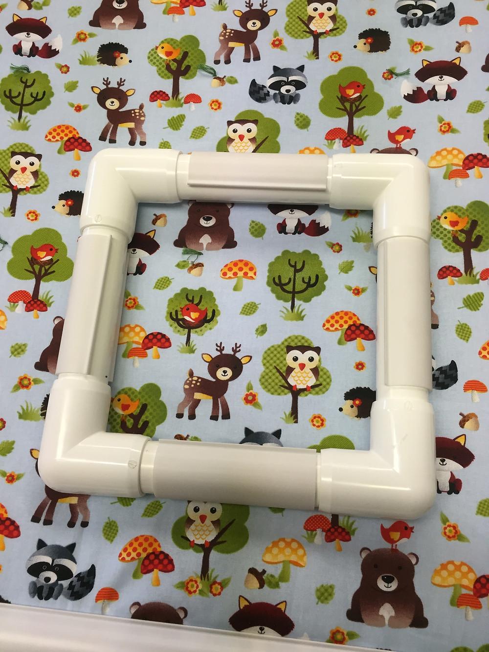 PVC hand quilt square