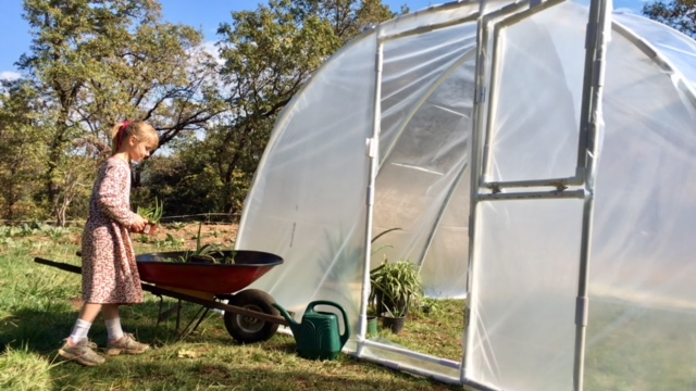 1 inch PVC Greenhouse