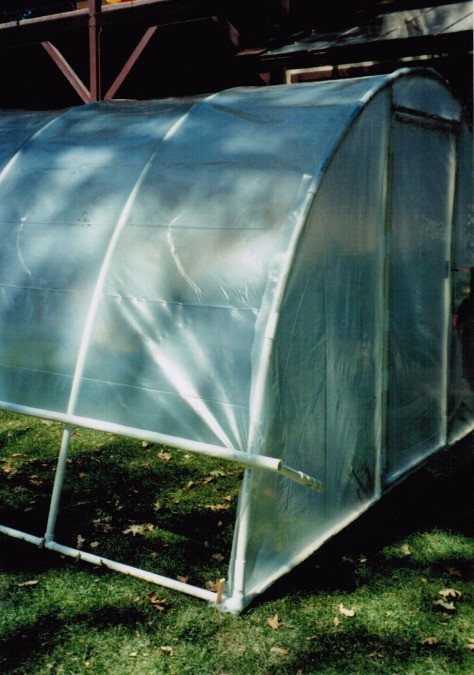 Arched PVC Greenhouse