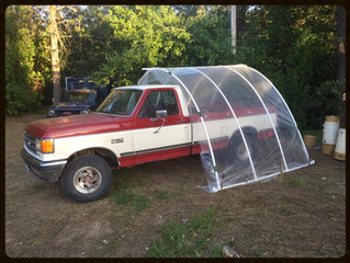 PVC Carport in an Hour (No Cutting)