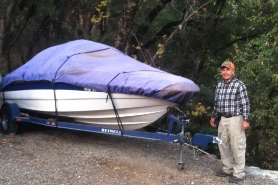 PVC Boat Cover