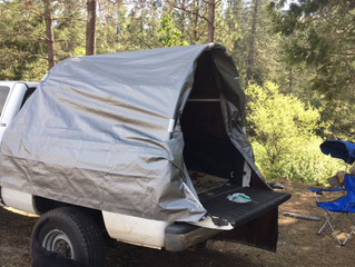 PVC Truck Tent Camper (Quick and Easy)