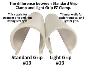 Standard Grip Vs. Light Grip EZ