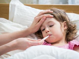 Criança com febre! O que fazer?