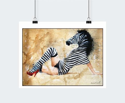 Simbiosis - Zebra