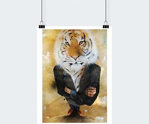 Simbiosis - Tigre