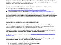 Coronavirus Info from CCLD