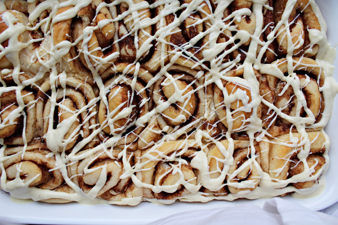 Cynamonowe rolsy - cinnamon rolls