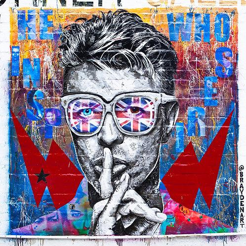 Brayden Bugazzi - 'Bowie', embellished prints