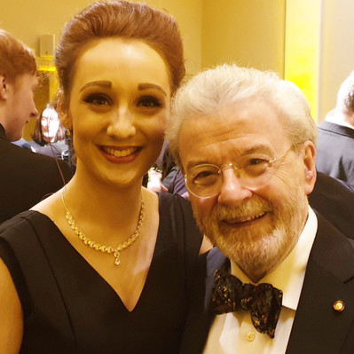 Sir James Galway 80th birthday Celebration Concert in the NCH Dublin