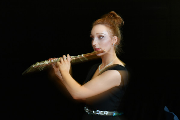 Amy Gillen Flute Photo: Chris Christodou