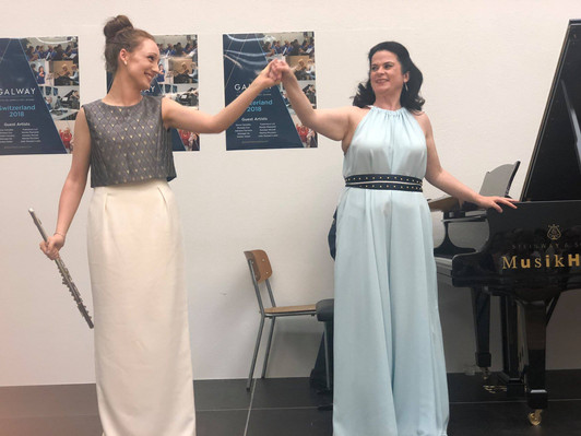 Rising Star Recital at the 2018 Sir James Galway Flute Festival, Switzerland