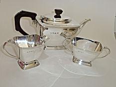 3piece silver tea service