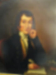 Small 18th cent oil portrate of a gentleman