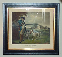 Hand coloured engraving of G Morland