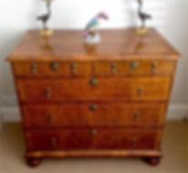 17th Century walnut chest of drawers