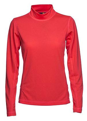 Madison Long Sleeved Mock Neck Polo Shirt