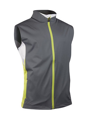COURCHEVEL BLOCK ZIP NECK  WIND GILET