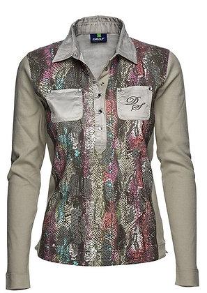 Jen Long Sleeved Polo Shirt