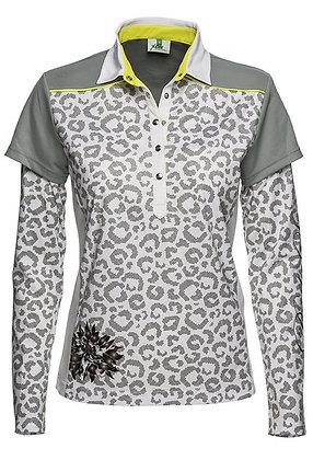 Jillian Long Sleeve Polo Shirt
