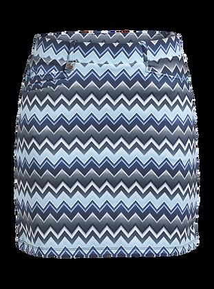 Jupe zigzag bleue Rohnisch